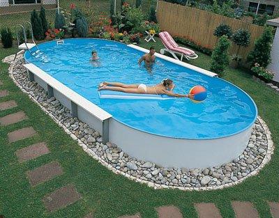 Разновидности сборных (каркасных) бассейнов